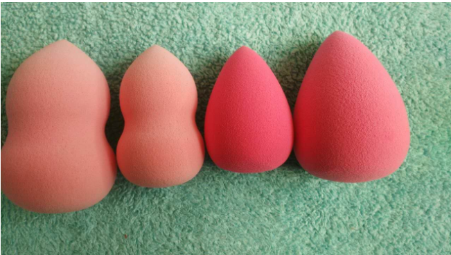 High Quality Beauty Makeup Sponge Blender Internal structure comparison