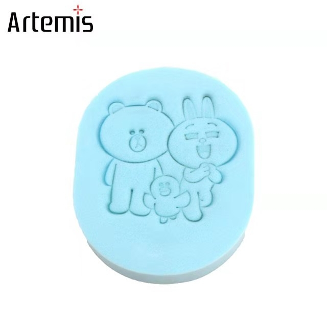 Artemis blue facial cleansing sponges cleansing pad Deep Cleaning Face Sponges