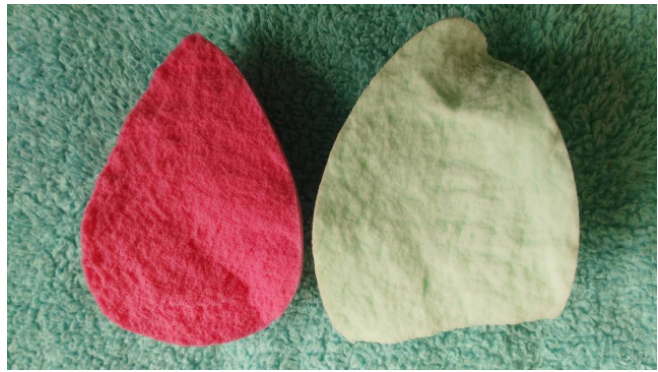 High quality beauty makeup sponge blender are like this